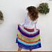 Rainbow Skirt pattern