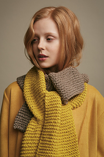Shown with Twinners Long Scarf.