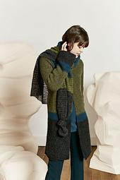 shown with 265-52 Lang Yarns Malou Light (coat)