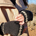 Woven Band Mitts pattern