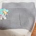 Asymmetrical Basket-Weave Blanket pattern