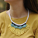 Loopy Worsted Necklace pattern