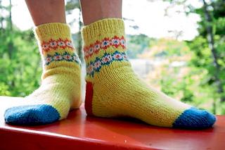Tyng Street Socks