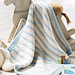 Blue Striped Blanket pattern