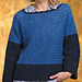 Color-Block Chic Pullover pattern