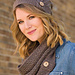 Button Up Slouchy Hat & Cowl pattern