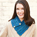 Puff-Stitch Neck Warmer pattern