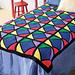 Kid's Color Block Afghan pattern