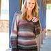 Slouchy V-Neck Sweater pattern