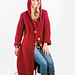 Standout Hooded Cardigan pattern