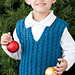 Child's Cabled Vest pattern