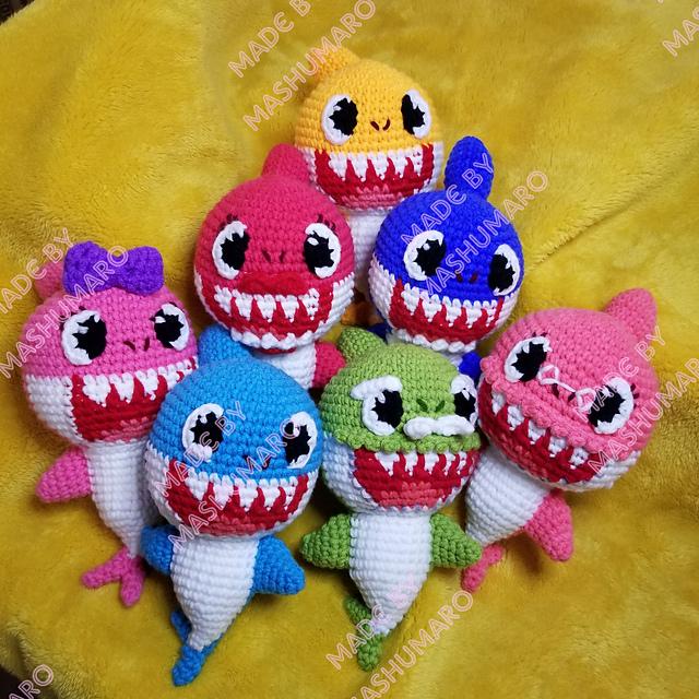 Crochê e Amigurumis | Bebê tubarão, Tubarão de crochê, Amigurumi | 640x640