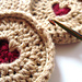 Jammy Dodger Biscuit pattern