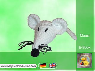 Ravelry: Mausi, the little white mouse - PDF crochet pattern