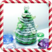 Christmas pearl tree pattern