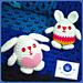 Amigurumi: Eggy bunny pattern
