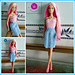 Fashion doll sun dress pattern