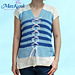 Blue Striped Tunic pattern