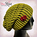 Slouch Hat with Interchangeable Appliques pattern