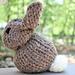One Square Plush Bunny pattern