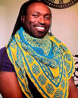 Designer Michael Green wearing Large Size