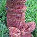 Fiddly Foo Slipper Socks  pattern