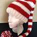 Long and Striped Elf Hat pattern