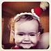 Teeny Tiny Santa Hat Headband pattern