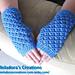 Angel Stitch Finger Less Gloves pattern