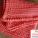 Bulky Yarn Crochet Afghan pattern