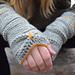 Sōlstice fingerless crochet gloves pattern