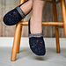 Interstice crochet slippers pattern
