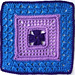 Lady's Lace Afghan Square pattern