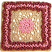 Duchess Afghan Square pattern