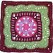 Empress Afghan Square pattern