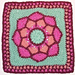 Queen Mother Afghan Square pattern