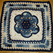 Kaleidoscope Blossom Square pattern