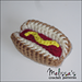 Mini Hot Dog Cat Toy pattern