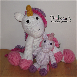 Lily the unicorn amigurumi pattern - Amigurumipatterns.net | 320x320