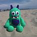 Cruz the Beach Monster pattern