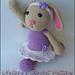 Blossom the Ballerina Bunny pattern