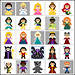 Princess & Villains CAL pattern