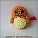 Charmander Ball - Pokemon pattern