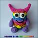Little Rainbow Monster pattern