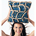 #43 Fish Scales Pillow pattern