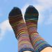 Pretty Thrifty Socks pattern
