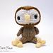 Amigurumi Woodland Critter Owl pattern
