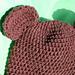 Osito Infant Bear Hat pattern