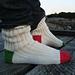 Lighthouse socks pattern