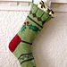 Holly Christmas Stocking pattern